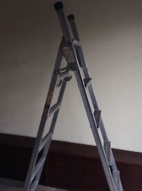 step ladder 3 way multifunction