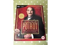 Agatha Christie's POIROT Complete Collection on DVD - cash on collection from Gosport Hampshire