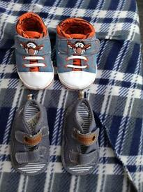 3-6 months old baby boy shoes brand new