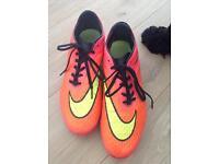Nike Football Boots size UK 9