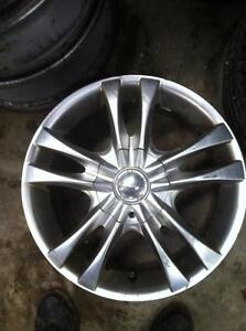 "4 - Used Chevy Cobalt 4 Bolt Aftermarket 16"" Alloy Rims with Center Caps"