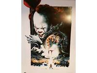 Stephen King Odeon Exclusive A3 IT poster