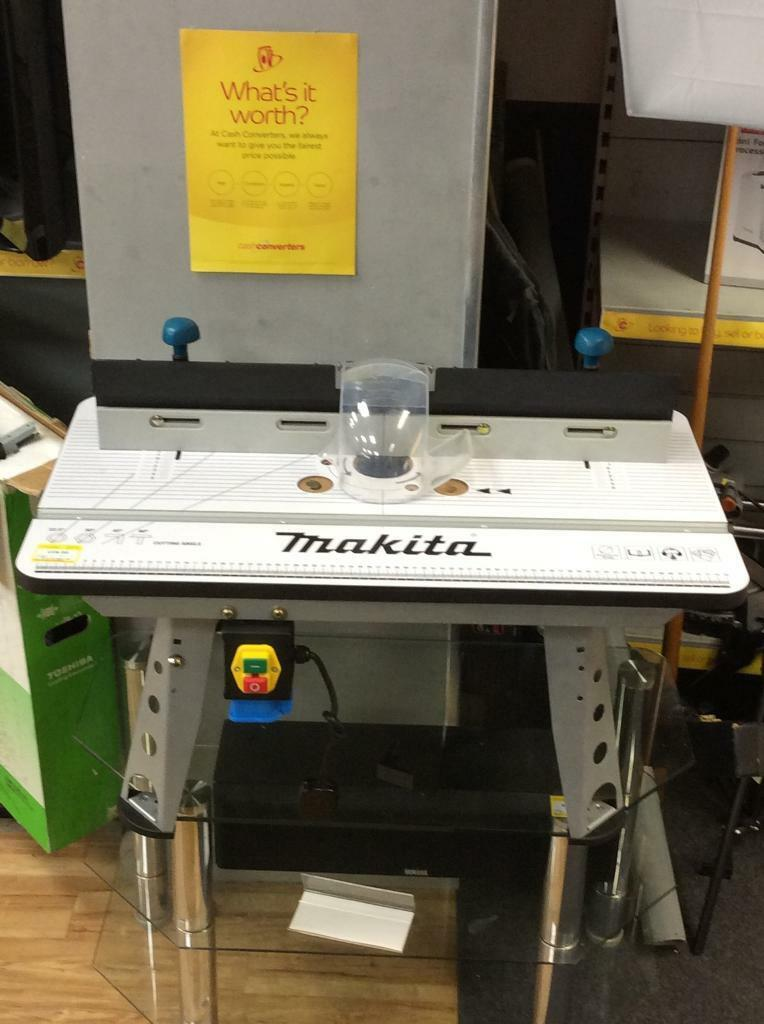 Makita Router Table - Table Design Ideas