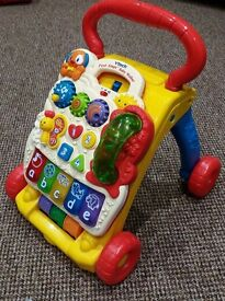 Vtech first steps baby walker - very good condition
