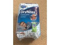 Brand new dry nites