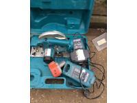 Mikita 18 volt cordless saw
