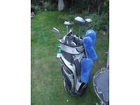 Longridge Golf bag and clubs