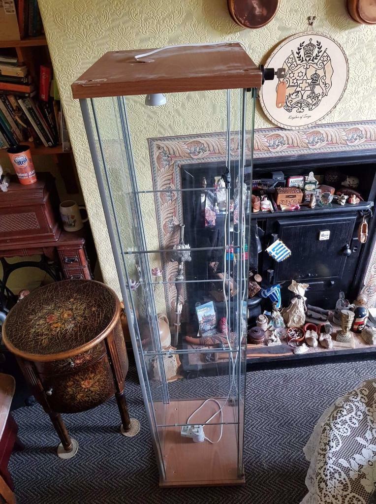 Glass display China cabinet   in Crosby, Merseyside   Gumtree