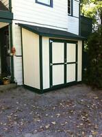 4x8 Garden Shed - Custom Built by Durham Sheds