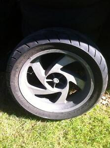 HONDA GOLDWING GL1500 GL1800 REAR WHEEL