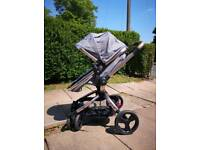 Mathercare orb 260 spin pushchair pram new condition
