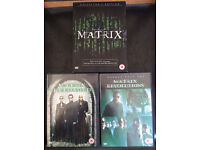 DVDs: The Matrix / Matrix Reloaded / Matrix Revolutions