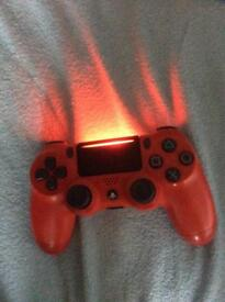 Red ps4 controller not avilable