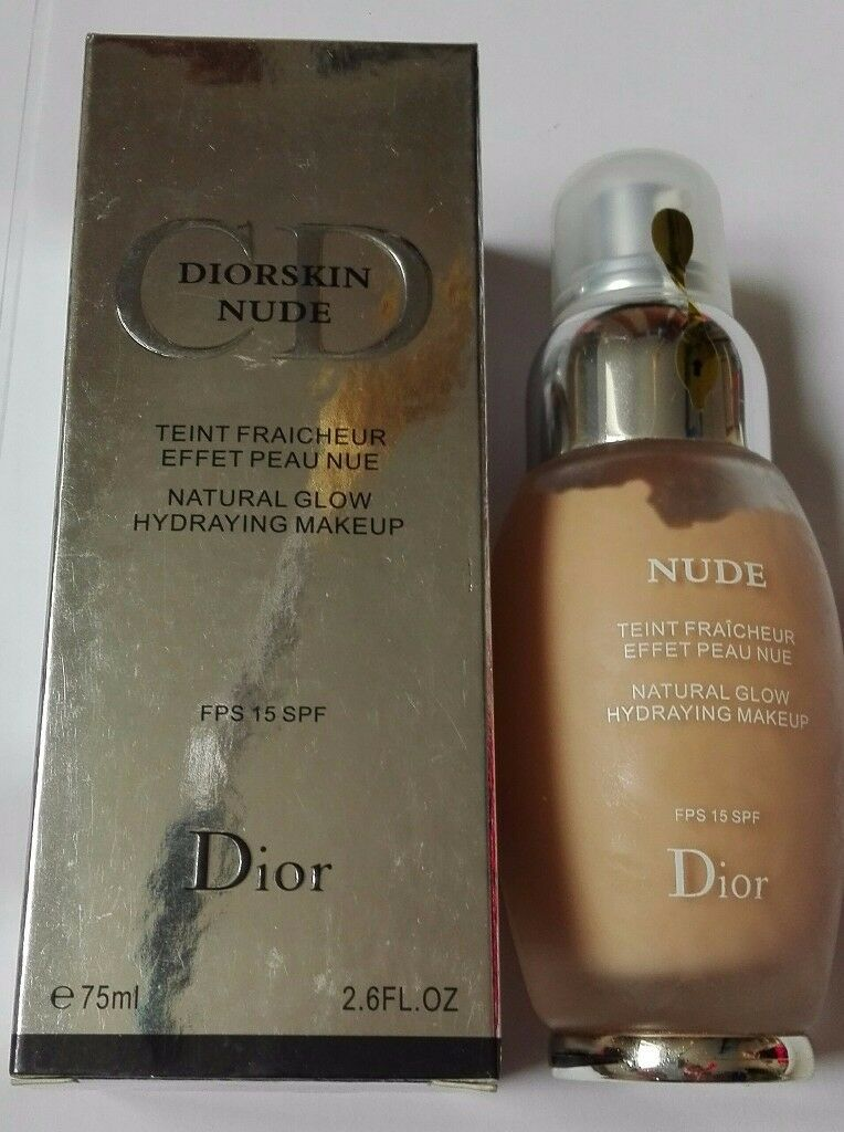 *NEW* DIORSKIN CD NUDE 75ml Natural Glow Hydraying Makeup 15 SPF