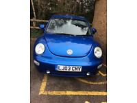 2L Volkswagen Beetle Car