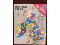 Children's large British Isles jigsaw brand new in sealed packaging