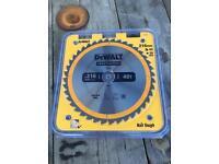Dewalt 216 40T circular saw blade