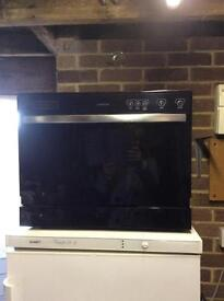 Hotpoint table top dishwasher