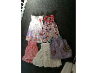 3-4 years dresses and top bundle lot. All for £4.00