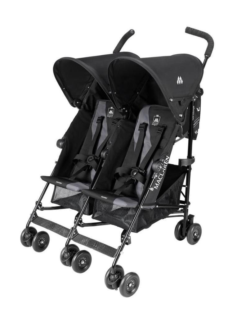 Maclaren Twin Triumph double buggy pushchair