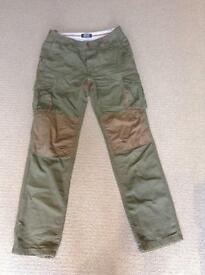 Men's Musto cargo style trousers, 32L