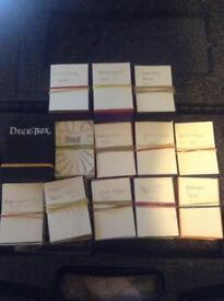 Yugioh cards for sale, decks, random cards including many rare 100 cards prices vary details below
