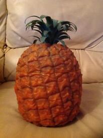 Vintage 1970s pineapple ice bucket