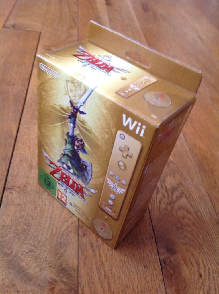 The Legend of Zelda Skyward Sword Limited Edition Nintendo Wii Sealed BNIB