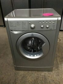 Silver A+ Class Indesit Wash&Dryer 6+5 kg(Comes With 3 Months Warranty)