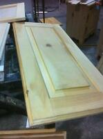 doors for kitchen cabinets  (pine wood)