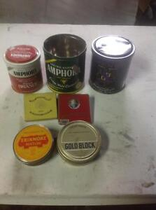Tobacco/Cigarette containers/cans