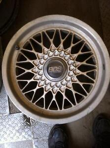 "4 - BBS 16"" Alloy Rims with Center Caps (5X120.7)"