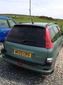 Peugeot 2.0 Ltd diesel short mot