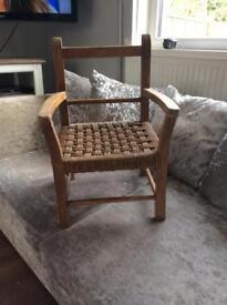 Antique child chair