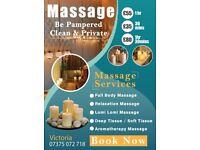 Massage - Different & Unique - Amazing Apartment Setting
