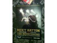 Ricky Hatton vs mayweather programme