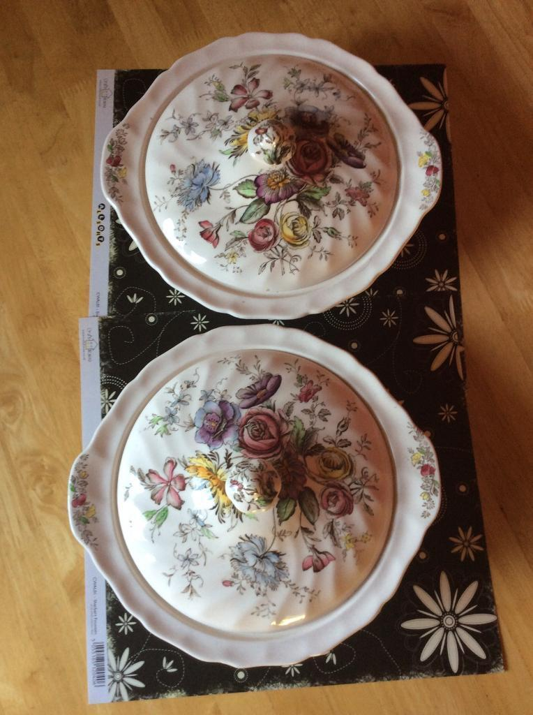 2 x Johnson Bros Sheraton Pattern Tureens With Lids. | in Hull, East ...