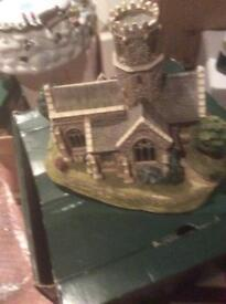 LIlliput Lane leed kindly lightly church in box