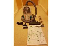 Zanussi ZAN1802EL Easy Power Bagless Cylinder Vacuum Cleaner, 1550 W- white/blue
