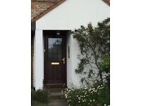 Anglian double glazed front door