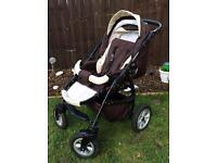 Brand new condition pushchair
