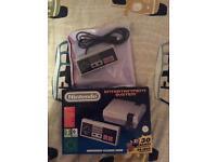 Nintendo classic mini + extra control pad