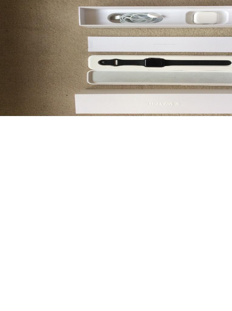 Apple Iwatch Sport Box Apple Iwatch Sport 42mm Space