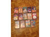 Walt Disney Classics 14 VHS Videos As New