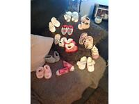 baby shoes, kickers, converse
