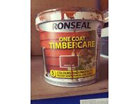 3 for £10 - one coat timbercare