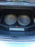 Alpine Type S subs and amp