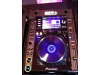 X2 CDJ 2000 DJ CD MP3 Decks & DJM 900 Nexus Mixer