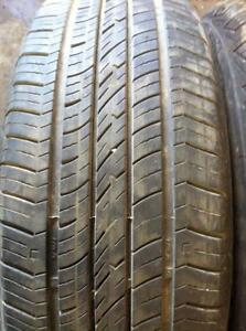 2 - Cooper All Season Tires with Very Good Tread - 195/65 R15