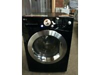 Black Gloss LG A++ Class 9Kg Spin 1400 Washing Machine